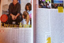 Φωτογραφία του άρθρου στις σελίδες του περιοδικού