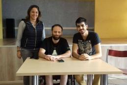 Ειρήνη, Παναγιώτης και Κωνσταντίνος στο σχολείο!